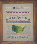 U.S.A. Sampler - (Cross Stitch)