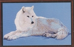 Arctic Wolf - (Cross Stitch)