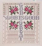 God is Good God is Great KIT - (Cross Stitch)