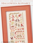 Halloween Alphabet Sampler - (Cross Stitch)