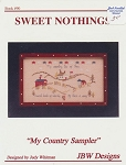 My Country Sampler - Sweet Nothings - (Cross Stitch)