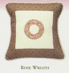 Rose Wreath - (Cross Stitch)