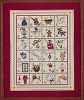 Christmas Alphabet Sampler Kit - (Cross Stitch)