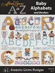 Baby Alphabets and Borders - (Cross Stitch)