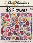 48 Flowers - (Cross Stitch)