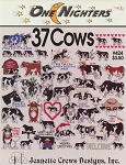37 Cows - (Cross Stitch)