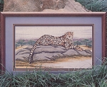 Cheetah - (Cross Stitch)