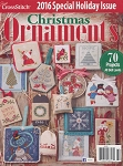 2016 Christmas Ornaments Magazine - (Cross Stitch)