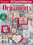 2015 Christmas Ornaments Magazine - (Cross Stitch)