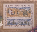 Provence Welcome - (Cross Stitch)