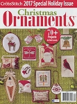 2017 Christmas Ornaments Magazine - (Cross Stitch)