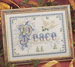 Peace - (Cross Stitch)