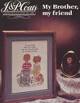 My Brother, My Friend - (Cross Stitch)
