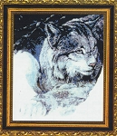 Lynx - A Quiet Moment - (Cross Stitch)