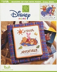 Disney Home - Seasons of Fun with Pooh - (Cross Stitch)