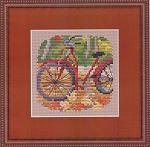 Fall Ride - (Cross Stitch)