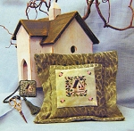 Bird House - (Cross Stitch)