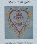Merry & Bright - (Cross Stitch)