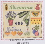 Bienvenue en Provence - (Cross Stitch)