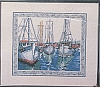 Boats in Harbor - (Cross Stitch)