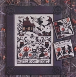 Trick or Treat - (Cross Stitch)
