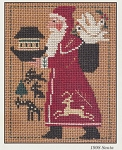 1998 Santa Prairie Schooler - (Cross Stitch)