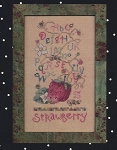 Fruit Salad Sampler Strawberry - (Cross Stitch)