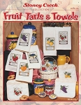 Fruit Tarts & Towels - (Cross Stitch)