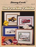 Hard-working Vehicles - (Cross Stitch)