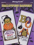 Halloween Banners I - (Cross Stitch)