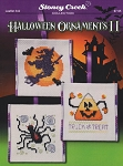 Halloween Ornaments II - (Cross Stitch)