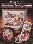 Christmas In the Woods - (Cross Stitch)