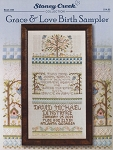 Grace & Love Birth Sampler - (Cross Stitch)