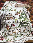 Christmas Village Collectors' Series Afghan - (Cross Stitch)