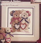 Laverne & Shirley Bestest Friends - (Cross Stitch)