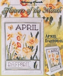 Flowers of the Month - April Daffodil - (Cross Stitch)