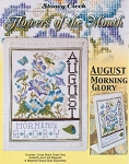 Flowers of the Month August Morning Glory - (Cross Stitch)