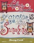 Laughter is Sunshine - (Cross Stitch)