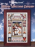 Winter Welcome Sampler - (Cross Stitch)