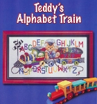 Teddy's Alphabet Train - (Cross Stitch)