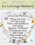 In Loving Memory - (Cross Stitch)