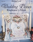 Wedding Doves Ringbearer's Pillow - (Cross Stitch)