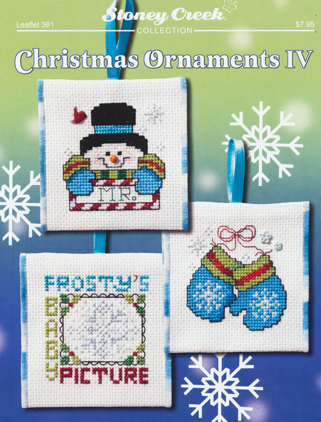 christmas ornaments iv counted cross stitch pattern