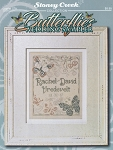 Butterflies Wedding Sampler - (Cross Stitch)