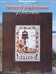 Autumn Lighthouse Welcome - (Cross Stitch)