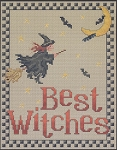 Best Witches - (Cross Stitch)