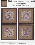 Garden Party Autumn Harvest - (Cross Stitch)