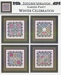 Garden Party Winter Celebration - (Cross Stitch)
