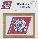 Coast Guard Emblem - (Cross Stitch)