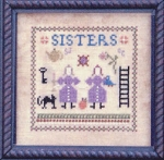 Sisters - (Cross Stitch)